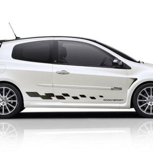 Renault Clio MK3 side stripe graphics decal sticker style 1