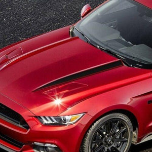 Side Blackout Hood Spears Stripes Decals for Ford Mustang Graphics