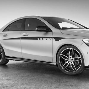 Mercedes-Benz CLA Class C117 AMG sports stripes Decal Graphics