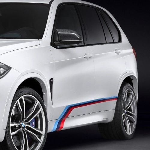 BMW X5M F85 side graphics decals M SPORT M Performance M Tech