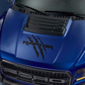 Ford F150 Raptor 2017-2018 hood logo claw graphics decal sticker