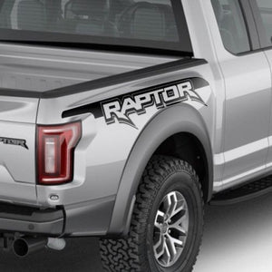 Ford Raptor SVT F150 Bedside Vinyl Graphics Decals 2017 2018