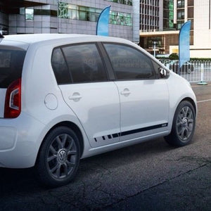 Volkswagen UP! 2011-2018 RUN edition Racing side stripe decal graphics