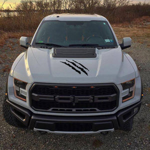Ford F150 Raptor 2017-2018 hood claw graphics decal sticker