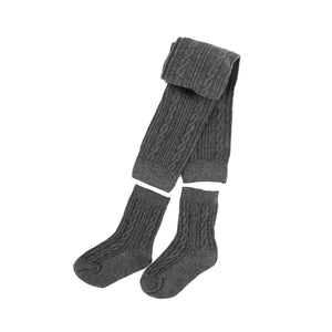 Cable Knit Convertible (2-Piece) Tights