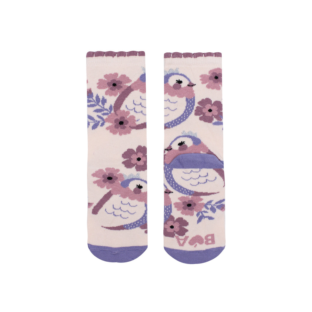 Princess Bird Midi Socks