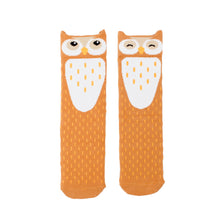 Load image into Gallery viewer, Barn Owl Knee High Socks