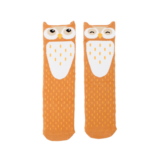 Barn Owl Knee High Socks