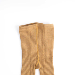Earth Tone Wool Blend Tights