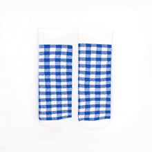 Load image into Gallery viewer, Gingham Knee High Socks
