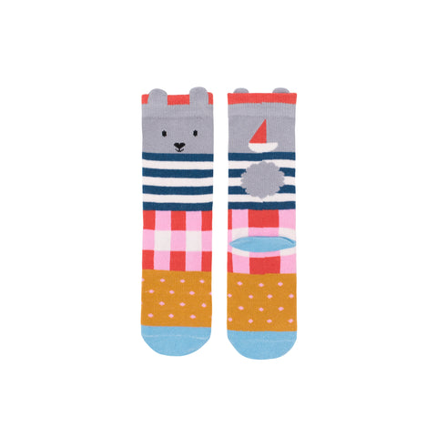 Seaspray Bunny Midi Socks - Gingham