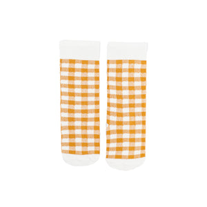 Gingham Knee High Socks