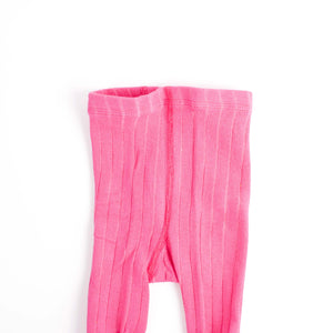 Infant Ablaze Wide Ribbed Tights