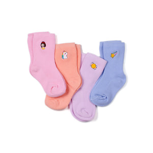 Fairytale Midi Socks 4 Pack