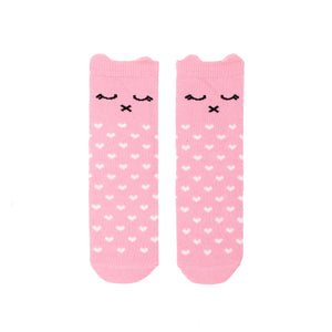 Sleepy Kitty Knee Socks