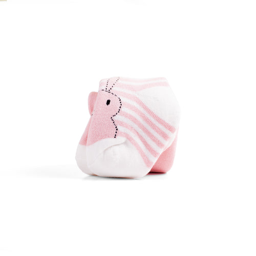 Toddler Bunny Striped Terry Lined Tights
