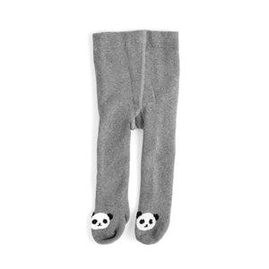Toddler Animal Terry Lined Tights
