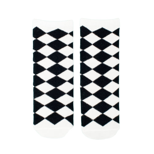 Diamonds Knee Socks