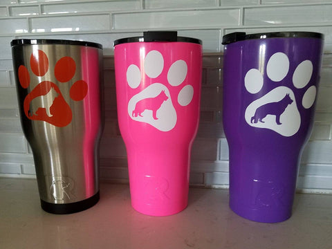 RITC brand SGSR tumbler in purple!