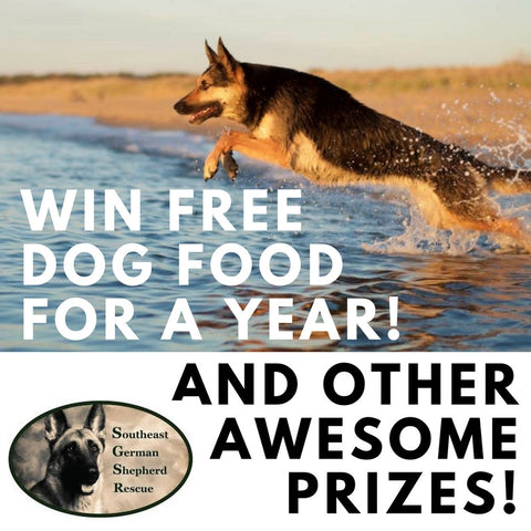 *Free Dog Food for a Year* Raffle Ticket!