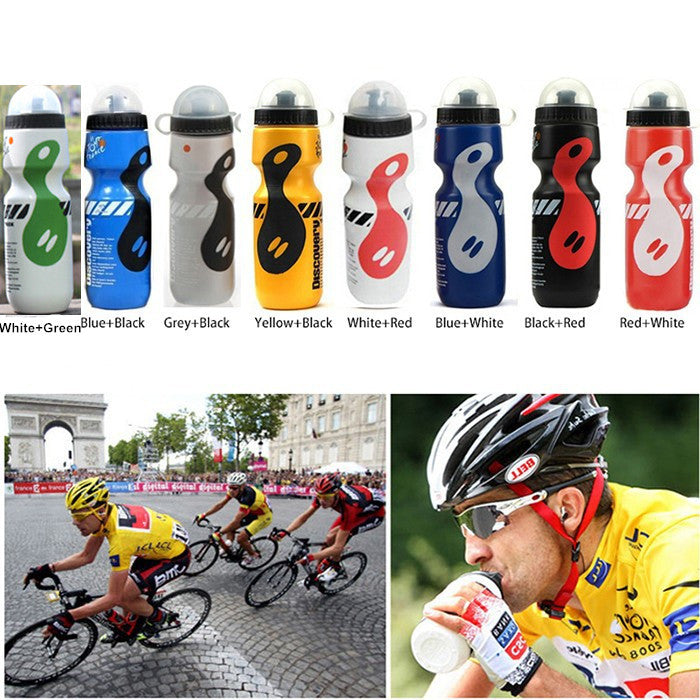 My Portable Plastic Outdoor 650ml Mountain Bike Bicycle Cycling Sports Water Bottle Leak-proof Space Cup with Straw Lid 650ML / Yellow Black my-portable-plastic-outdoor-650ml-mountain-bike-bi