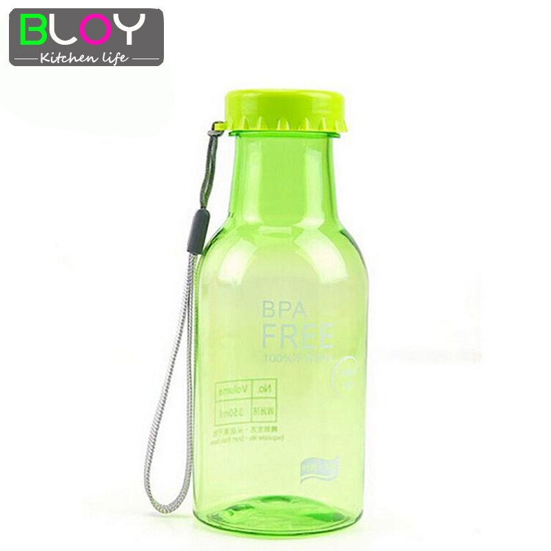 Eco-Friendly Plastic Unbreakable Water Bottles my water bottle Leak-proof Cup A93 yellow eco-friendly-plastic-unbreakable-water-bottles-my-
