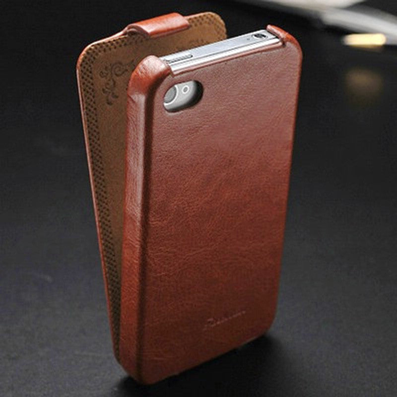 Vintage PU Leather Flip Case for iPhone 4 4S 4G Phone Bag Cover for iPhone4 Original FASHION Logo red vintage-pu-leather-flip-case-for-iphone-4-4s-4g-ph