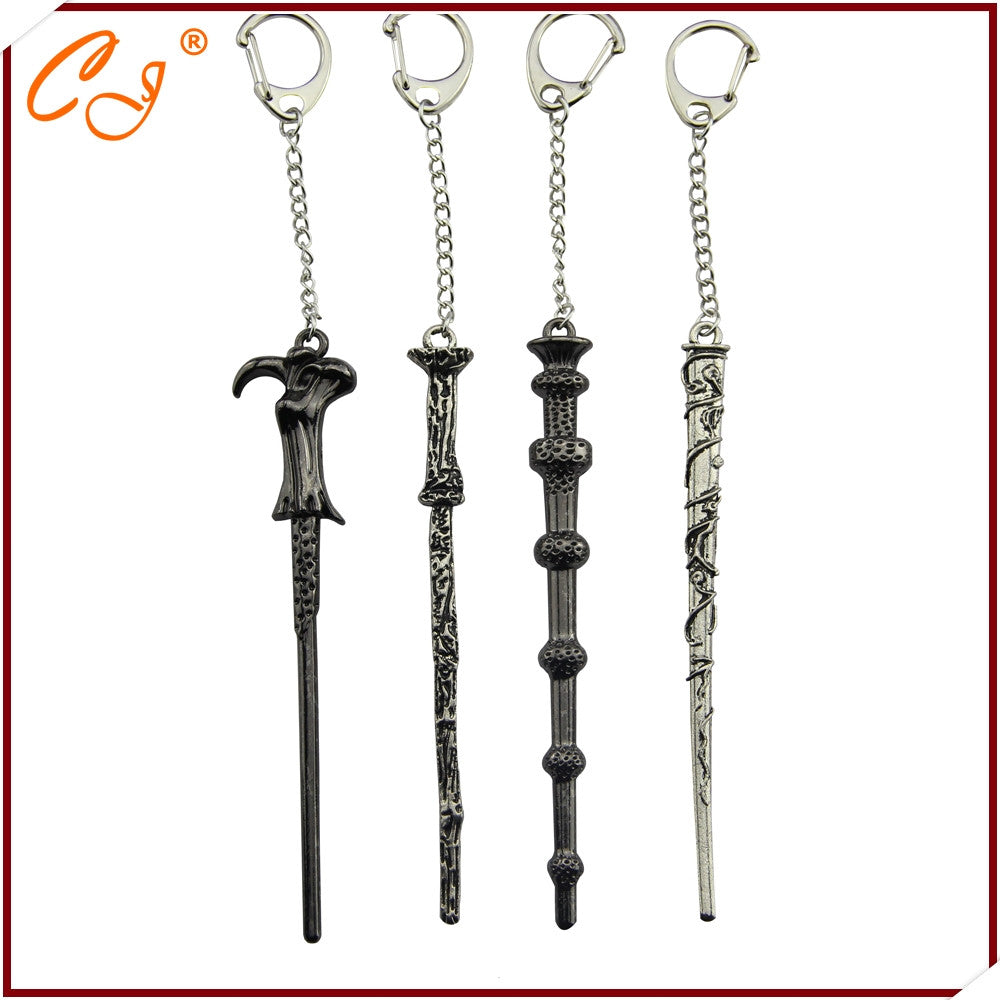 2016 Latest Harry Magic Wand Necklace Keychain Key Chain Hermione Dumbledore Voldemort Wand Pendant Pendant 4 2016-latest-harry-magic-wand-necklace-keychain-key