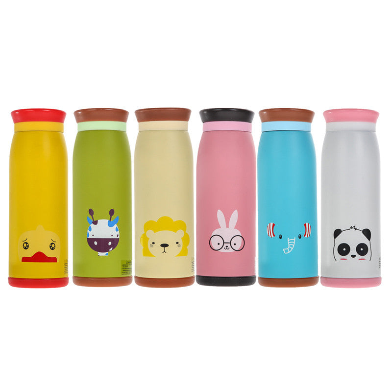 Fashion 500ml Thermos Mug Insulated Tumbler Travel Cups Stainless Steel Vacuum Cup Belly Cup termo cup thermal mug 20.5cm x 7cm Rabbit fashion-500ml-thermos-mug-insulated-tumbler-travel