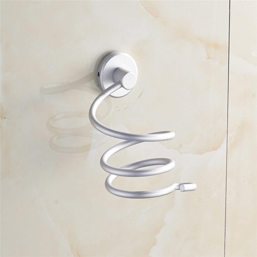 High Quality 2016  Innovative Wall-mounted Hair Dryer stainless steel bathroom Shelf Storage Hairdryer holder for hairdryer  high-quality-2016-innovative-wall-mounted-hair-dry