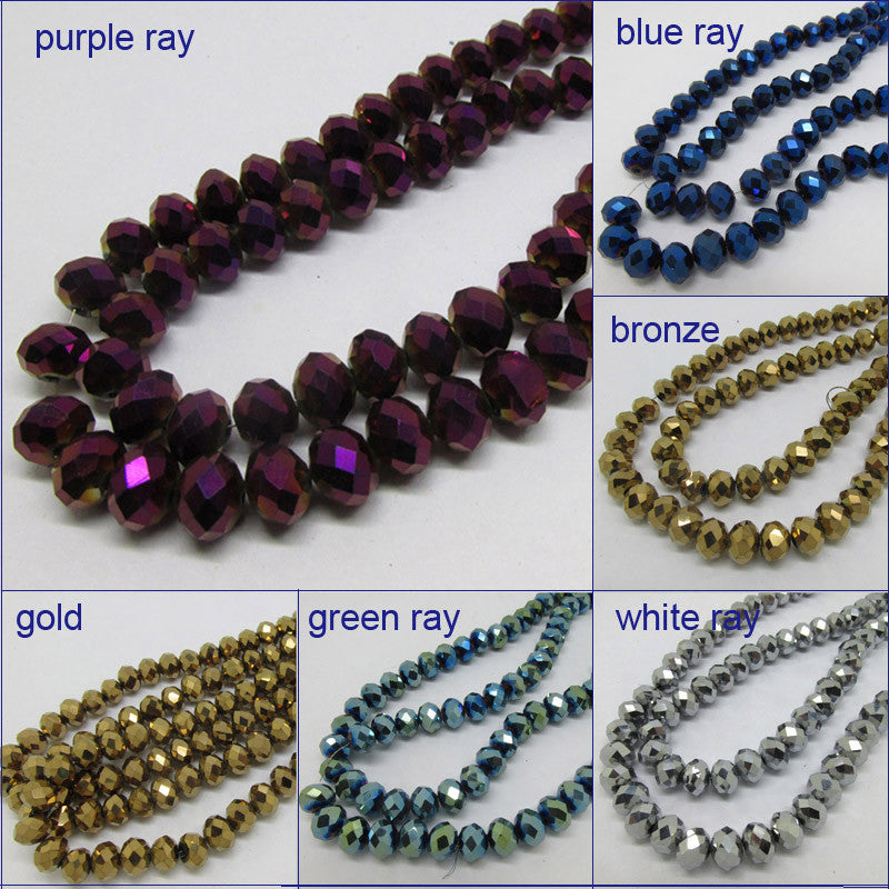 Free Shipping 145pc A string   4 mm bronze gold blue ray purple ray Crystal  Crystal faceted glass  Beads jewelry diy NS403 bronze free-shipping-145pc-a-string-4-mm-bronze-gold-blue