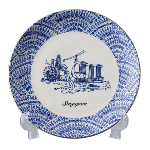 Singapore Attraction Plate