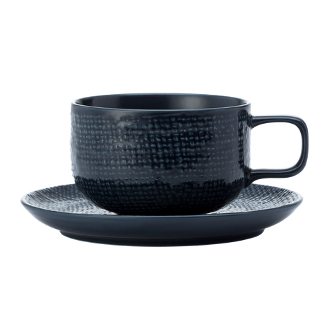Cup & Saucer (2 Sets) - KNIT