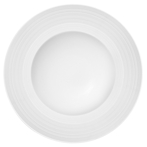 Round Rim Soup Plate (2/pack) - MANHATTAN