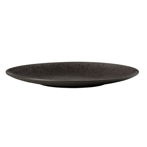 Round Coupe Plate - LAVA