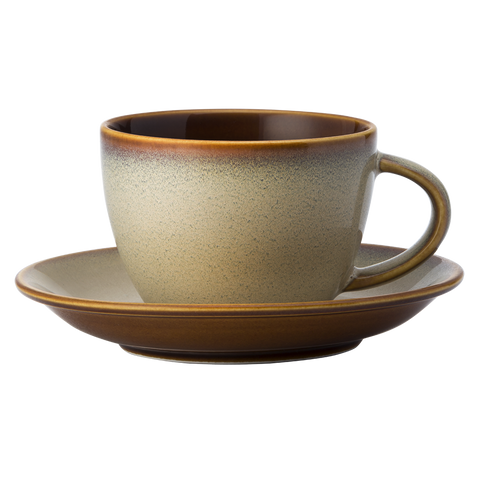 Cup & Saucer (2 Sets) - RUSTIC