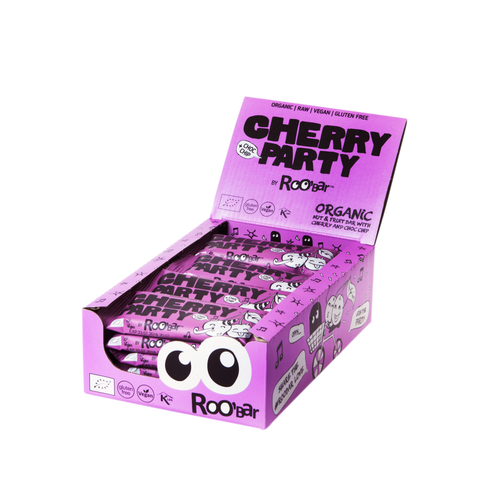 Roobar Cherry Choc Chip Box