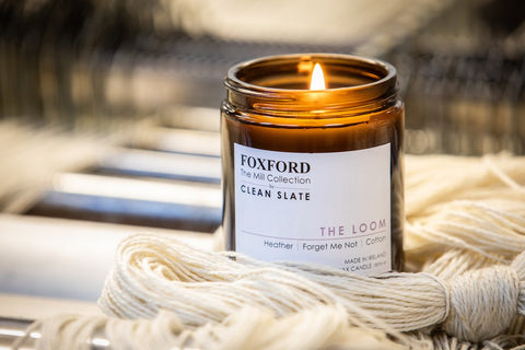 the loom foxford mill collection candle  mothers day