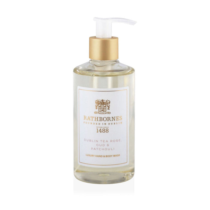 Rathbornes Dublin Tea Rose, Oud and Patchouli Luxury - Hand and Body Wash