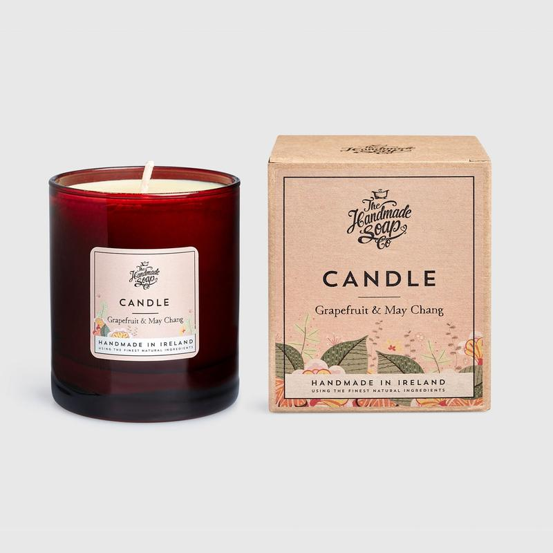 Grapefruit and May Chang Soy Candle