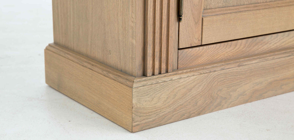 Flamant Library Balmore 2-Section Weathered Oak
