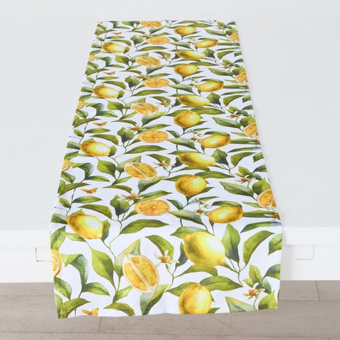 Table Runner Zitrone Limonade