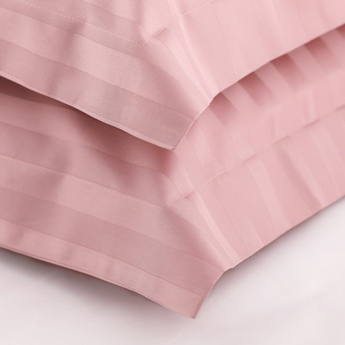 The Classic Bundle - Sateen Stripe in Dusty Pink