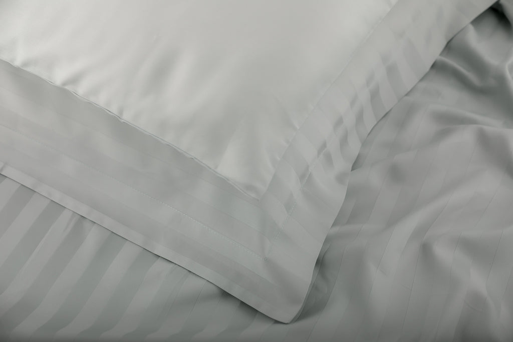Foxford Classic Sateen Pillowcase in Mint - Pair