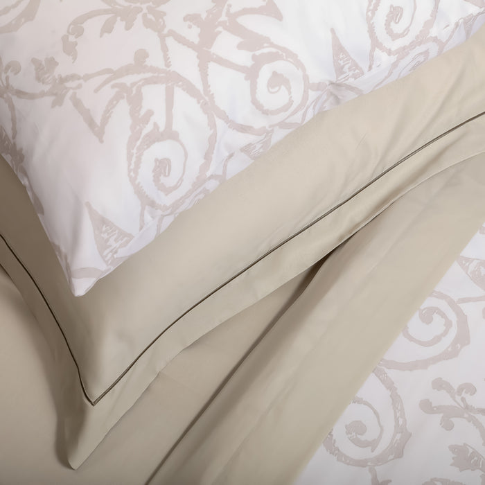 Mink Filagree Housewife Pillowcase - Pair