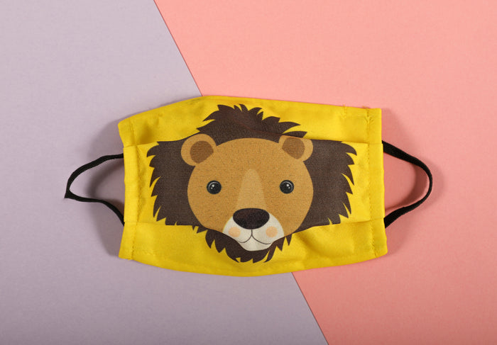 Kids Face Mask - Lion