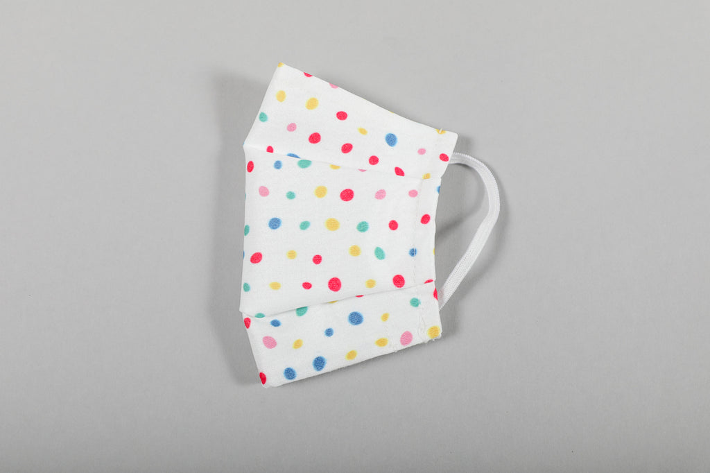 Kid's Face Mask - Dots