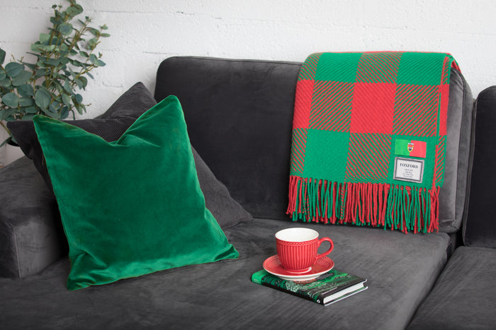 County Colour Throws - Mayo