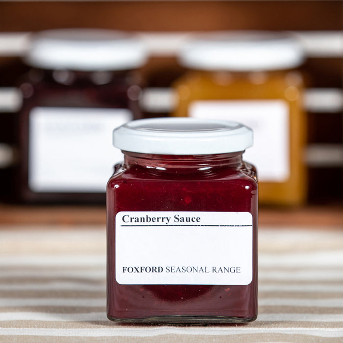 Foxford Cranberry Sauce - Seasonal Range
