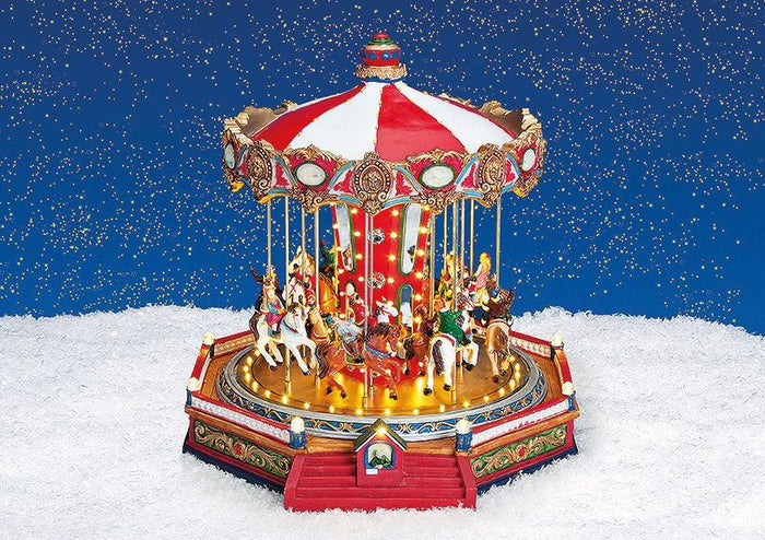 Carousel with Lighting and Music